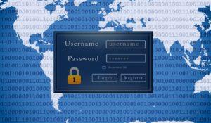 Bezpieczeństwo w sieci - panel logowania